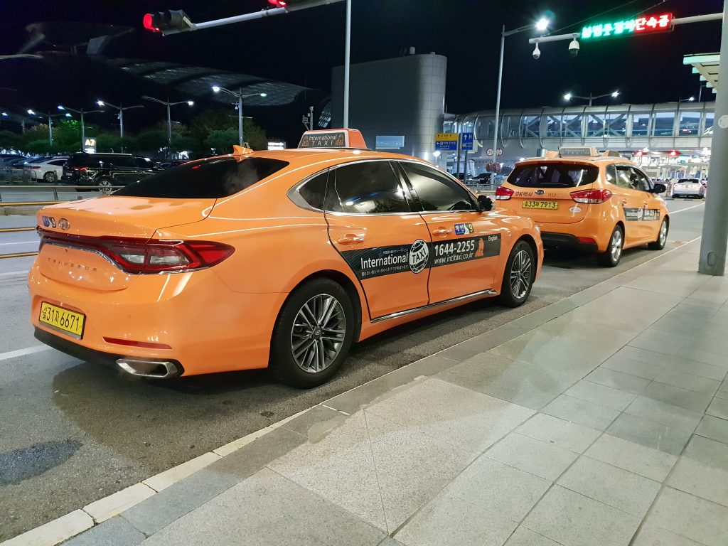Incheon Airport taxi