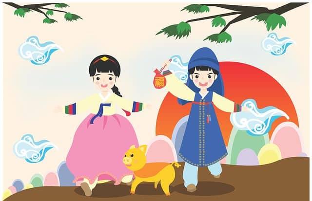 Korean Holiday new year image