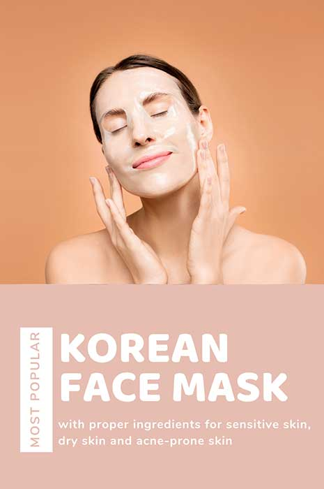 best Korean face mask for dry skin