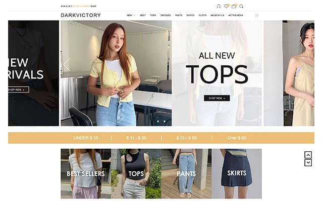 korean fashion online shopping stores