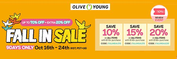 kbeauty oliveyoung coupon