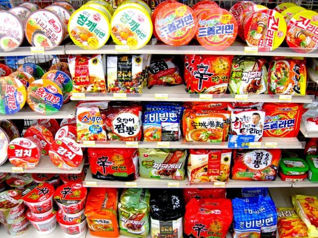 what to buy in Korea - Ramyeon