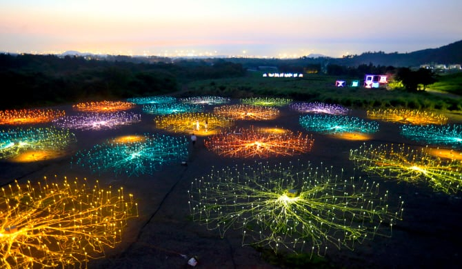 Jeju Light Art Festa