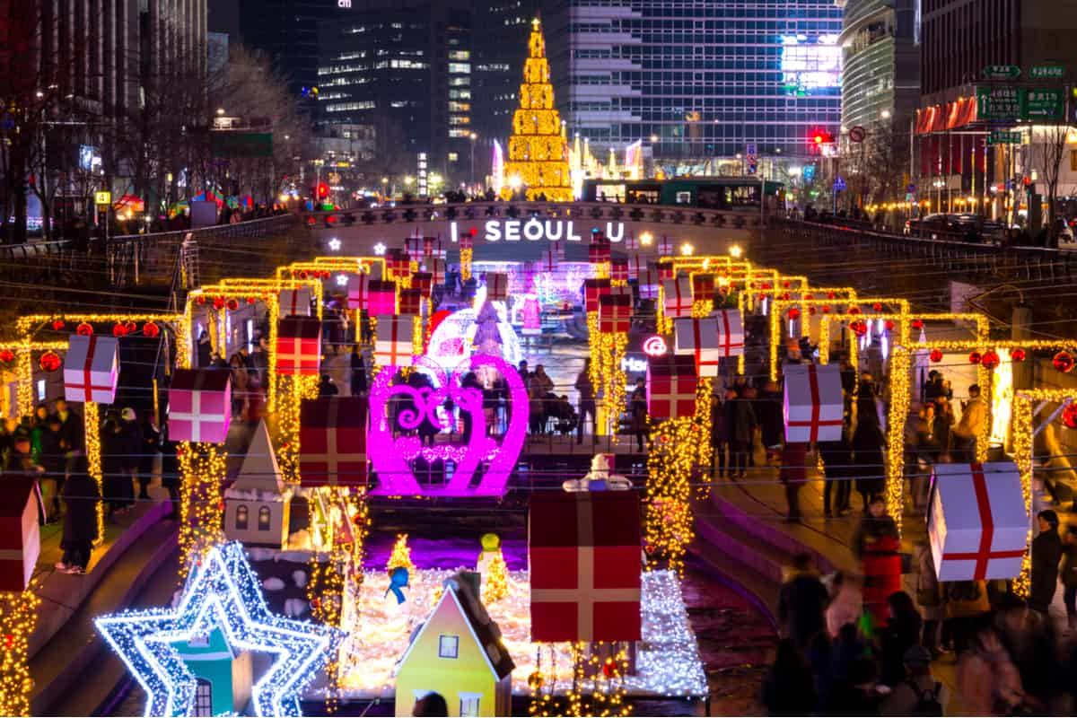 Things to do in winter Korea