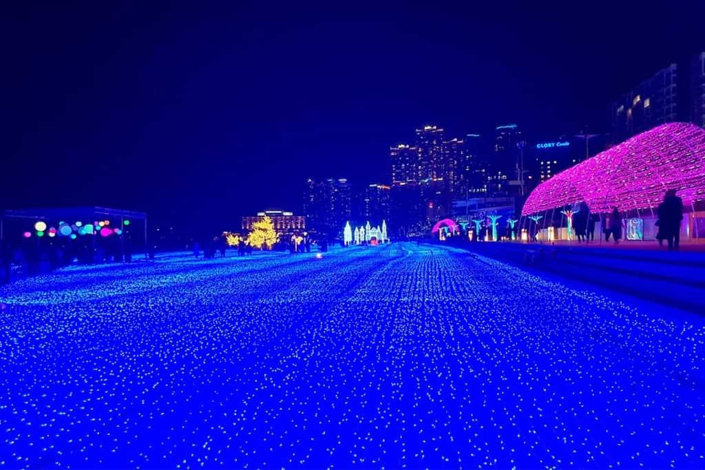 haeundae light winter festival