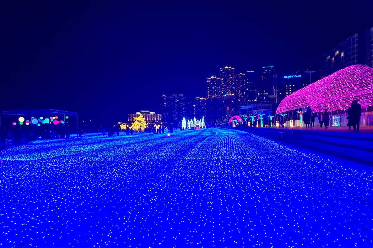 haeundae light winter festival