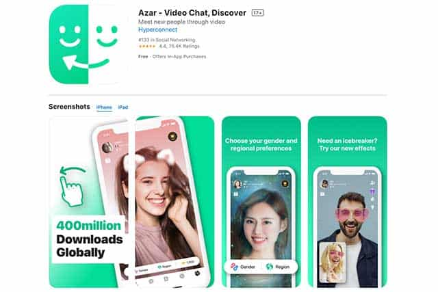 Azar dating app in korea