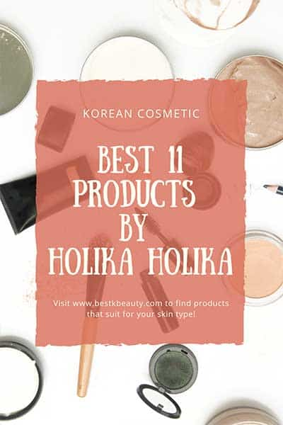 K-beauty best product from Holika holika