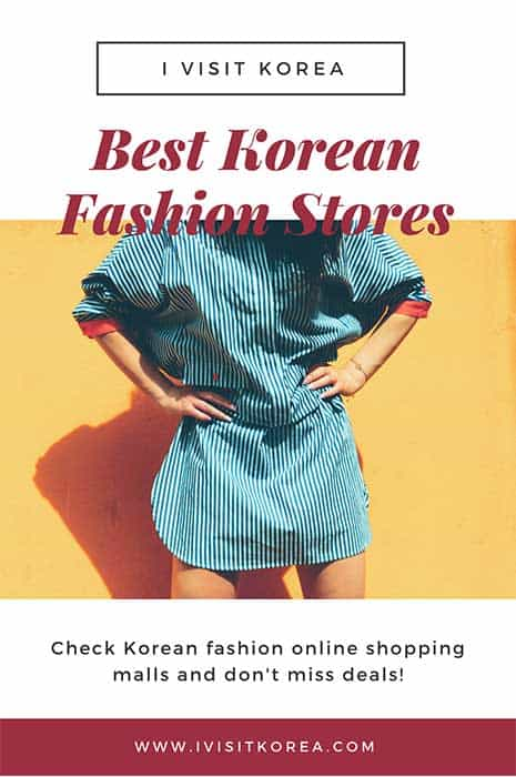 Korean fashion online stores