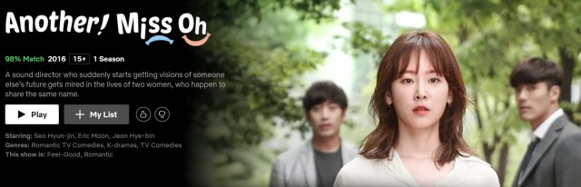 Best K-dramas on Netflix_Another Miss Oh