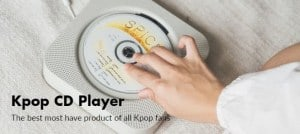 Kpopshop-Kpop CD Player
