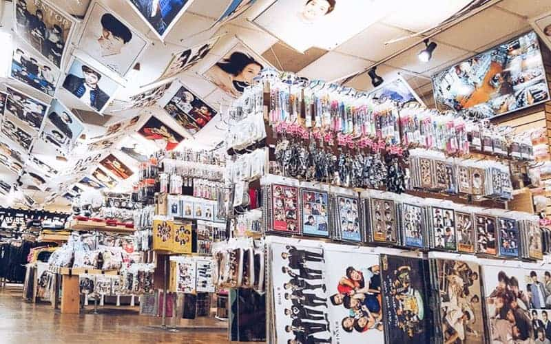 where to buy k-pop goods in Seoul
