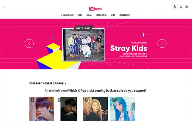 official kpop online shopping mall