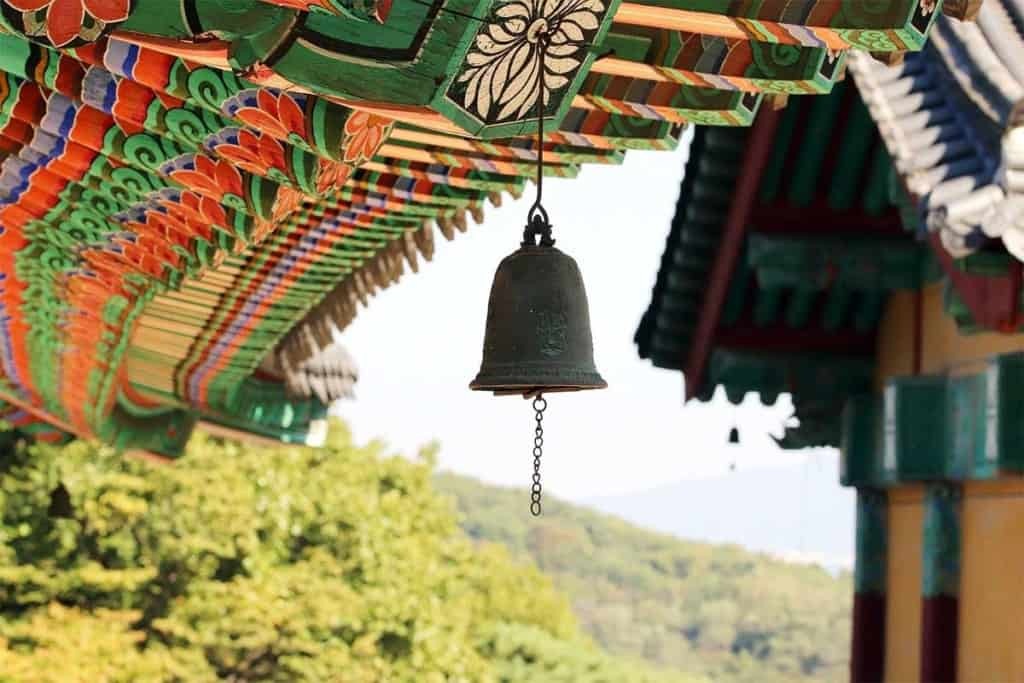 Peaceful temples in Seoul