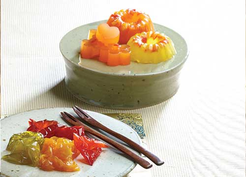 traditional Korean dessert paired perfectly with Korean tea