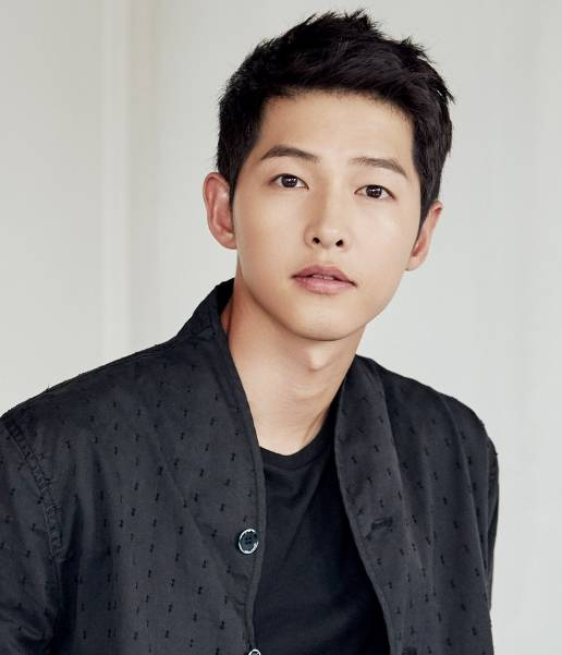 Korean handsome male actor Song Jung Gi