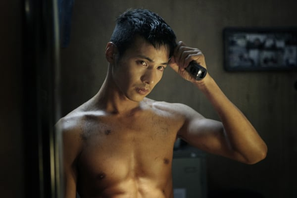 Wonbin in the movie Ajeossi