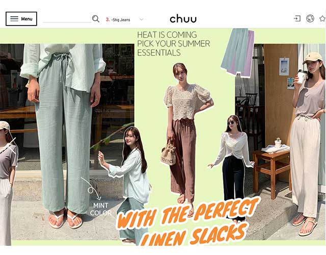 Chuu-Korean fashion online na tindahan