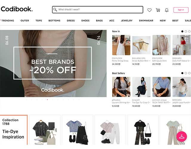 Korean fashion online store