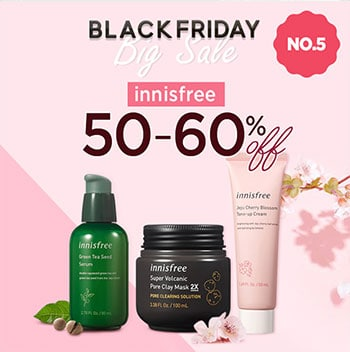 innisfree black friday sale