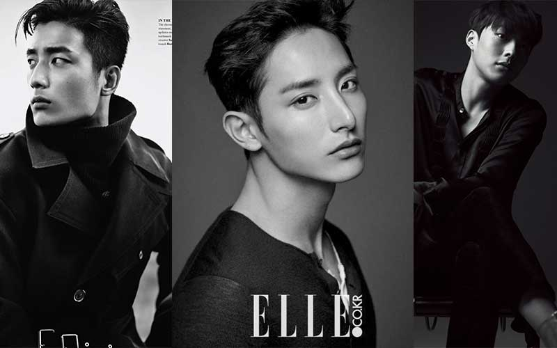 Top Korean male models