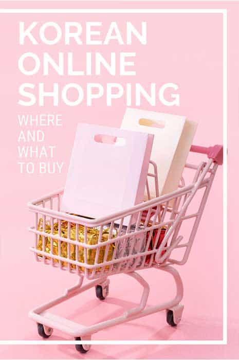 Korean online shopping stores