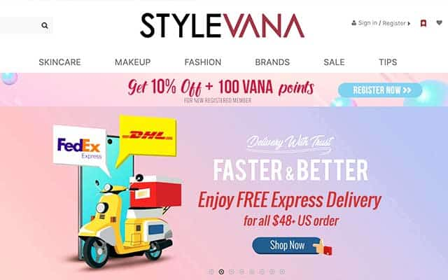 Korean fashion online shopping mall