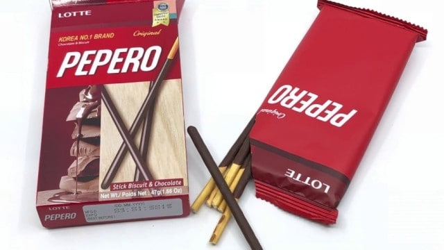 best korean snacks pepero