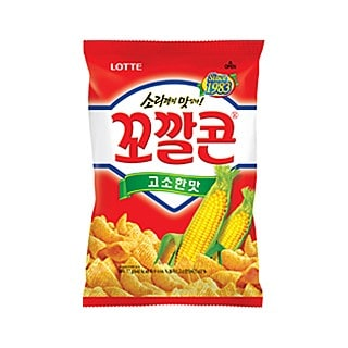 Lotte Kkokal Corn Chips