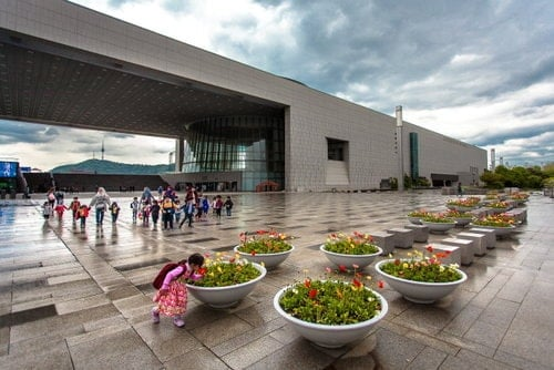 Virtual tour Korea museum