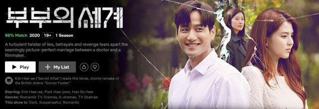 Best Korean dramas on Netflix in 2020_The world of the married