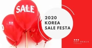 2020 Korea Sale Festa Featured Image