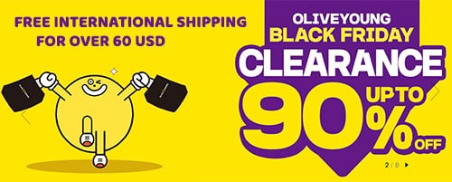 OLIVE YOUNG black friday deals