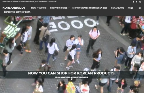 KoreanBuddy-Korean shopping proxy