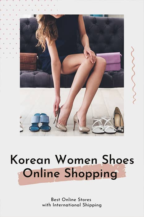 Korean shoe online shopping for women