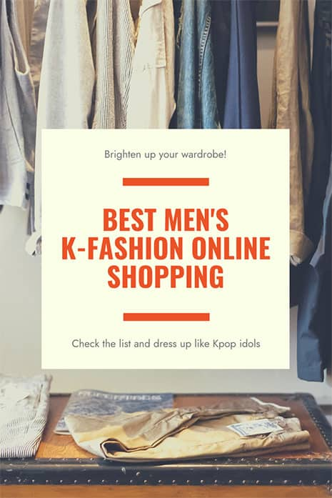 korean mens online shopping