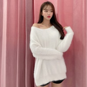 Soft Cutie Furry Knit Sweater