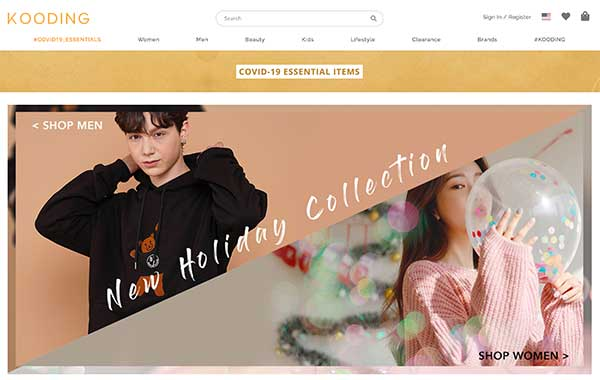 kooding-korean fashion online shopping