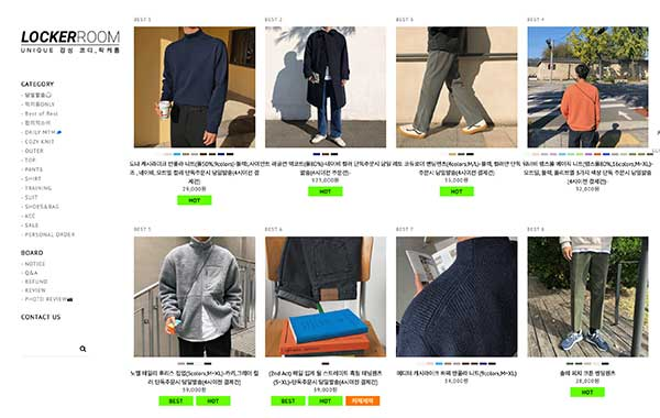 korean male fashion online shopping