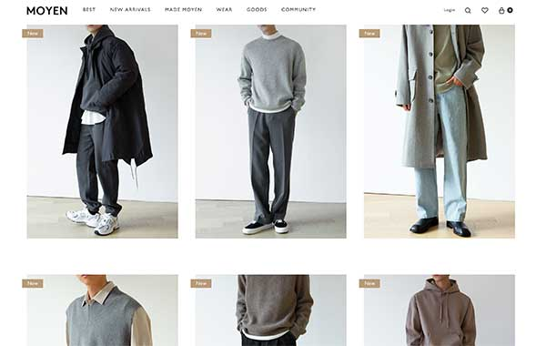 men's k-fashion online shopping