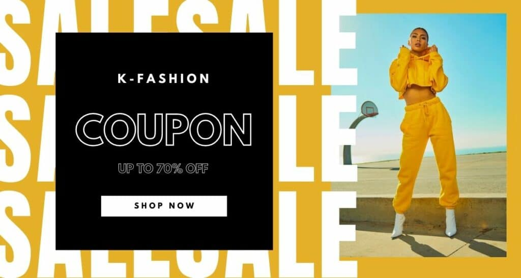 korean fashion coupon