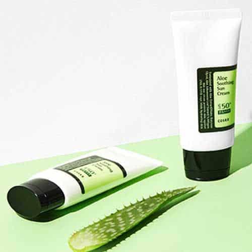 CosRX-aloe-sunscreen stylevana bestseller