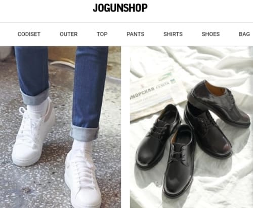 K-fashion Men shoes - Jogunshop