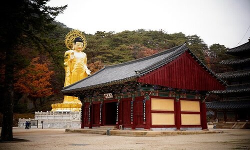 buddhist temple in korea