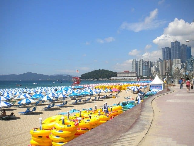 westin choseon hotel at the end of haebundae beach in busan is the perfect getaway accommodation for families