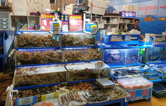 Norangjin Fish Market Shop