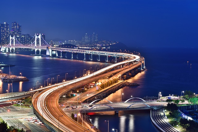 Night View in Busan