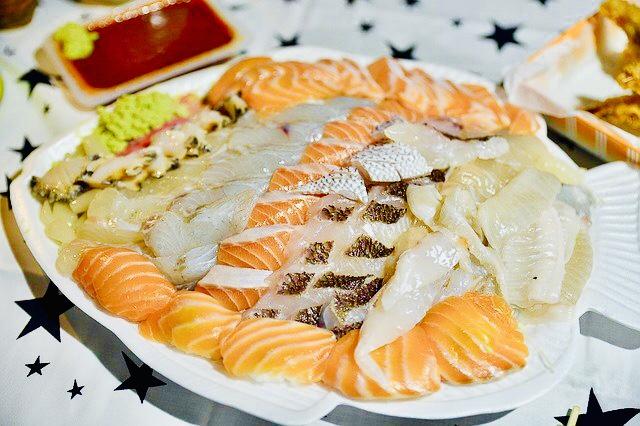 What to eat in Korean beach, Sasimi